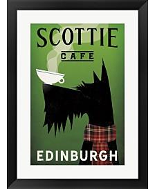 Scottie Cafe By Ryan Fowler Framed Art
