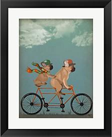 French Bulldog Tande By Fab Funky Framed Art