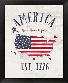 Est 1776 by Jo Moulton Framed Art
