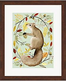 Autumn Wreath I by Grace Popp Framed Art