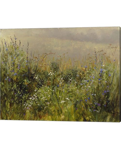Metaverse Wildflowers In The M By Kathie Thompson Canvas Art