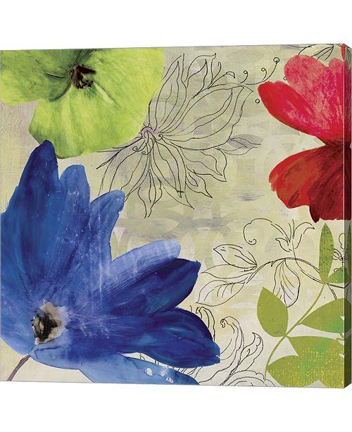 Metaverse Indigo Flower I By Posters International Studio Canvas Art