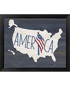 America By Jo Moulton Framed Art