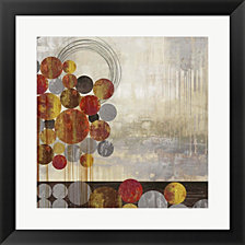 Sphere Scape by Posters International Studio Framed Art