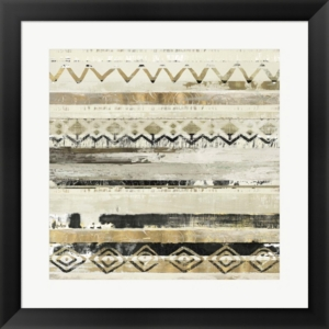 African Patchwork Ii By Tom Reeves Framed Art