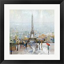 Paris By Allison Pearce Framed Art