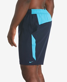 "Nike Men's Big & Tall Contend 2.0 Colorblocked 9"" Swim Trunks"