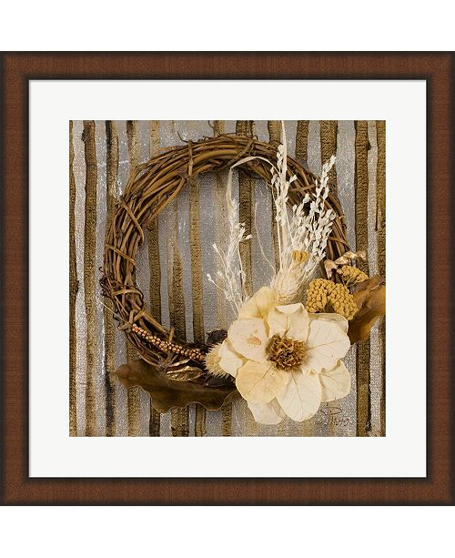 Metaverse Wreath Ii By Patricia Pinto Framed Art