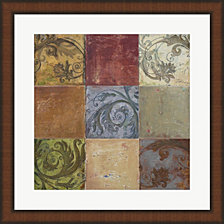 Moroccan Patch I By Patricia Pinto Framed Art