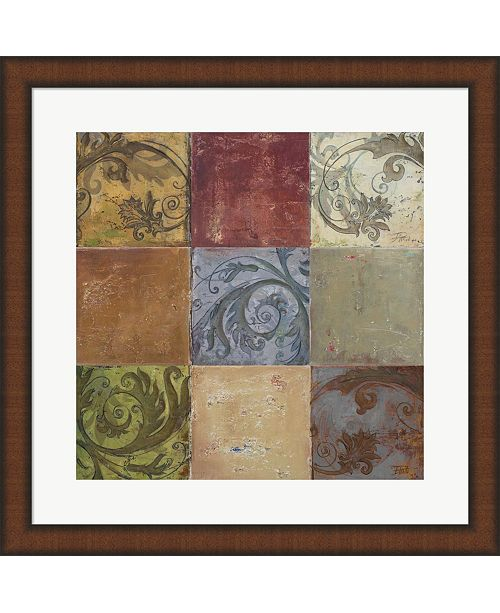 Metaverse Moroccan Patch I By Patricia Pinto Framed Art