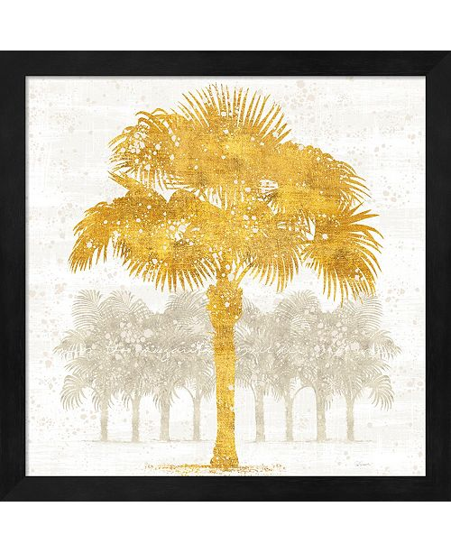 Metaverse Palm Coast V By Sue Schlabach Framed Art