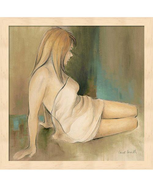 Metaverse Waking Woman II- Green By Lanie Loreth Framed Art