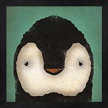 Baby Penguin By Ryan Fowler Framed Art