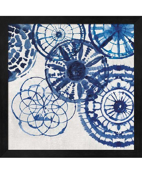 Metaverse Shibori Rings Ii By Aimee Wilson Framed Art