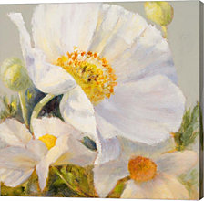 Sunbeam Flowers I by Lanie Loreth Canvas Art