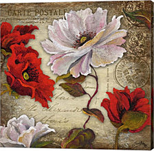 Paris Postcard I by Elizabeth Medley Canvas Art