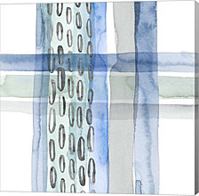 Cross Stitch Iv By Grace Popp Canvas Art
