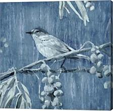 Denim Songbird I By Edward Selkirk Canvas Art