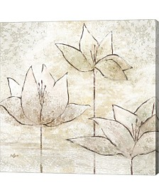 Floral Sketch II By Rebecca Lyon Canvas Art