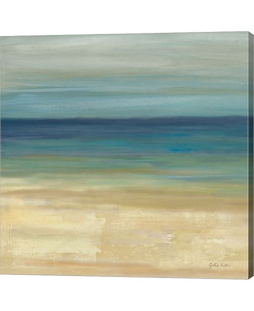 Metaverse Navy Blue Horizons I By Cynthia Coulter Canvas Art