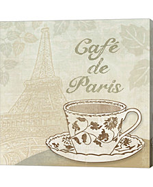Cafe de Paris by Erin Clark Canvas Art