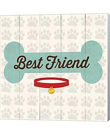 Best Friend Bone By Louise Carey Canvas Art