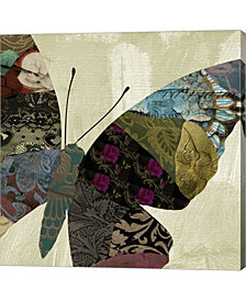 Butterfly Brocade Iv By Color Bakery Canvas Art