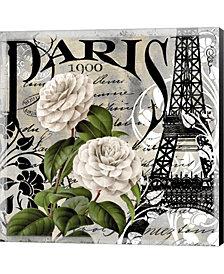 Paris Blanc Ii By Color Bakery Canvas Art