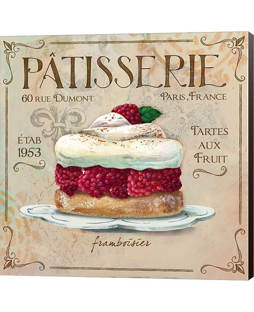 Metaverse Patisserie I By Fiona Stokes-Gilbert Canvas Art