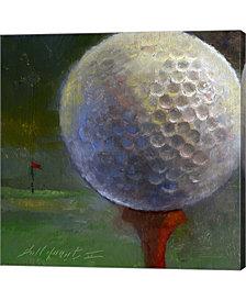 Golf Ball By Hall Groat II Canvas Art