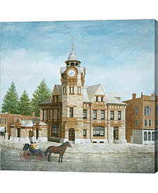 Arnprior Post Office By Kevin Dodds Canvas Art