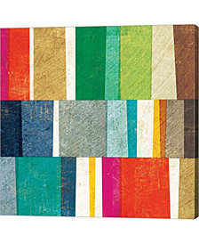 Colorful Abstract By Michael Mullan Canvas Art