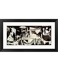Guernica By Pablo Picasso Framed Art