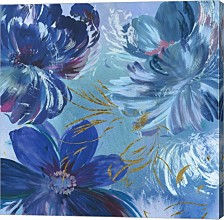 Midnight Floral I By Asia Jensen Canvas Art