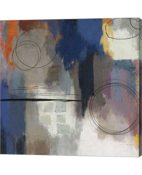 Metaverse Indigo Touch Ii By Posters International Studio Canvas Art