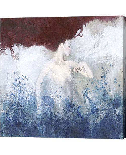Metaverse Mermaid By Erica Pagnoni Canvas Art