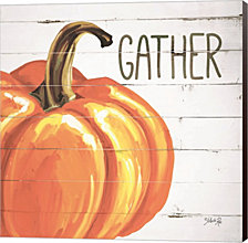 Gather Pumpkin by Marla Rae Canvas Art
