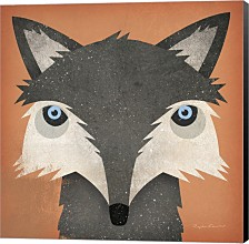 Timber Wolf By Ryan Fowler Canvas Art