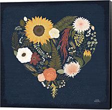 Autumn Romance X by Laura Marshall Canvas Art