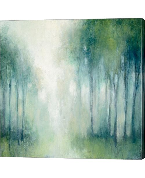 Metaverse Walk In The Woods By Julia Purinton Canvas Art