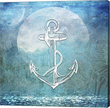 Sailor Away Anchor by LightBoxJournal Canvas Art