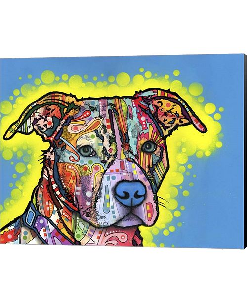Metaverse Painted Pit By Dean Russo Canvas Art
