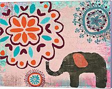 Bohemian Elephant II by Katie Doucette Canvas Art