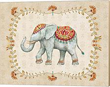 Elephant Walk V by Daphne Brissonnet Canvas Art