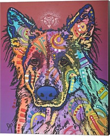 Timber By Dean Russo Canvas Art
