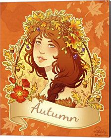 Autumn By Dalliann Canvas Art