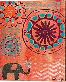 Bohemian Elephant by Katie Doucette Canvas Art