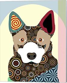 Australian Cattle Dog By Lanre Adefioye Canvas Art