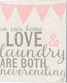 Neverending Laundry By Katie Doucette Canvas Art