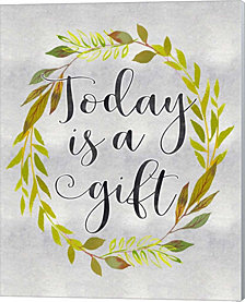 Today is a Gift by Tara Moss Canvas Art